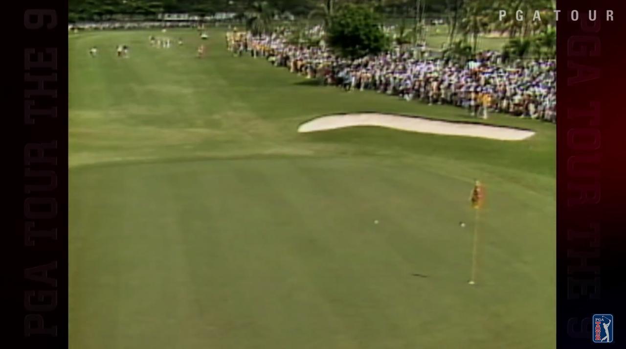 画像: ピン手前に着弾。ボールは大きく跳ね上がる www.youtube.com