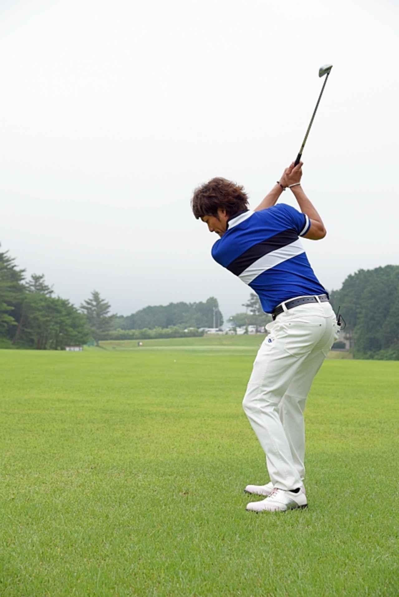画像4: デイに学ぶルーティン術。ドローを打つなら前に出すのは「左足」