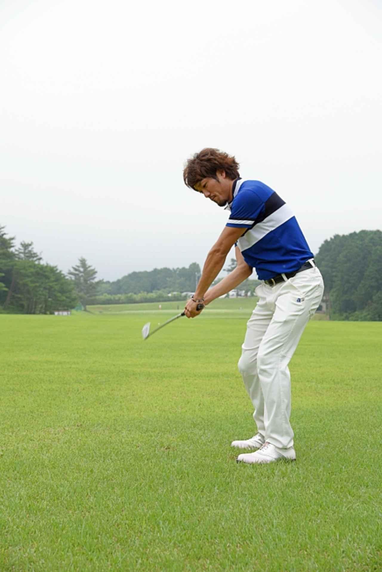 画像11: デイに学ぶルーティン術。ドローを打つなら前に出すのは「左足」