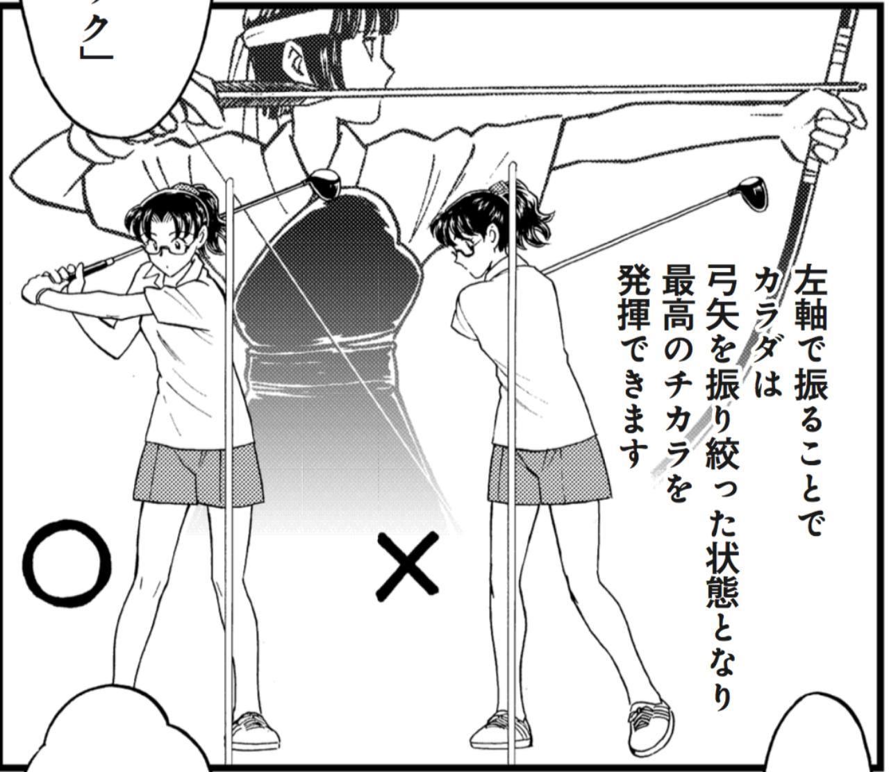 """画像4: 【コツ2】片足で立って""""左軸感覚""""を身につける"""