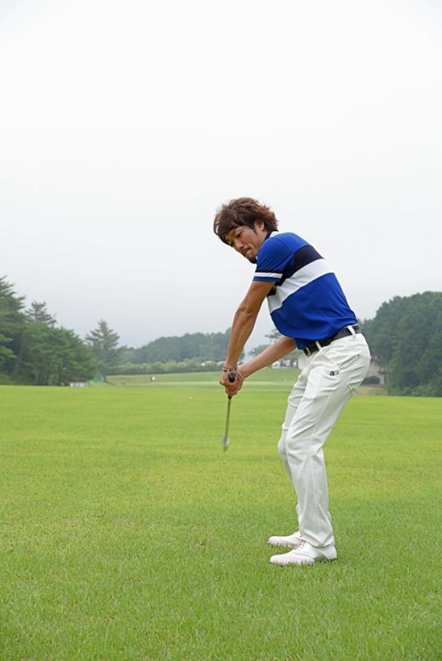 画像5: デイに学ぶルーティン術。ドローを打つなら前に出すのは「左足」