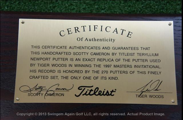画像: 保証書付きのようです www.ebay.com