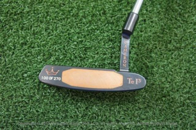 画像: NEW TITLEIST SCOTTY CAMERON TIGER WOODS 1997 MASTERS CHAMPION TE I3 PUTTER