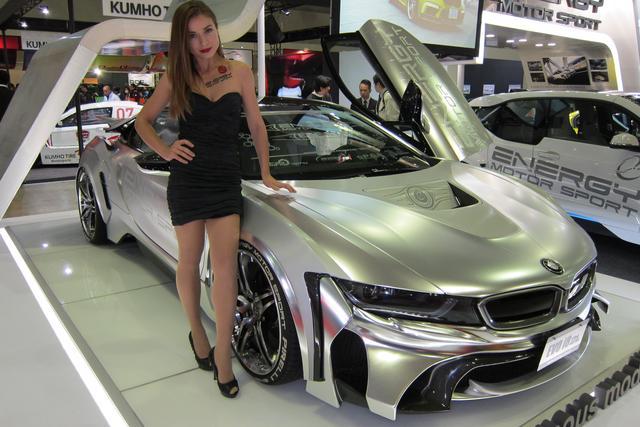 画像: 『ENERGY COMPLETE EVO-i8』新しい世代のスーパーカーとして、どうせだったらこのくらい強烈に仕上げて欲しいものです