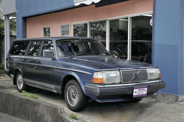 画像: 1991年式 ボルボ 240GLエステート 38万円なり。