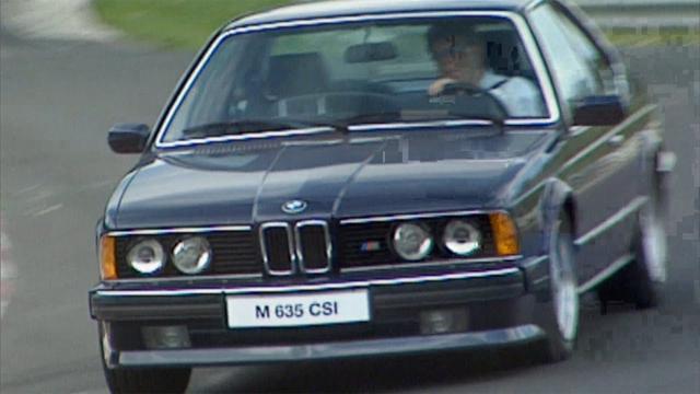 画像: ► BMW M635 CSi from 1984 High Speed on the Nürburgring Circuit www.youtube.com