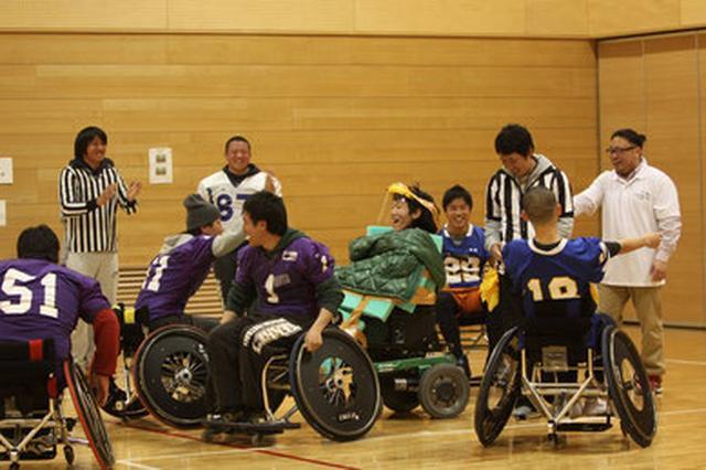 画像: Wheellchair Football Japan