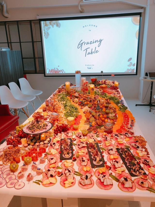 画像: ★テーブルの上にお皿がない!新しいケータリングビジネスです。