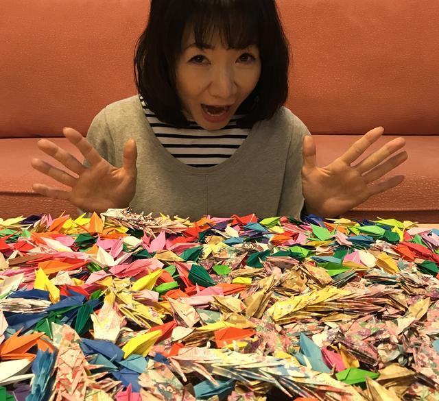 画像: 平松愛理『「岡村孝子さんへ千羽鶴を!」第一弾ご報告』