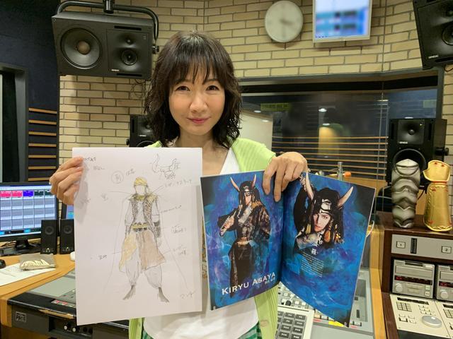 画像: ★村山さんのデザイン、衣装です。(幅広いジャンルを手掛けているんです!)