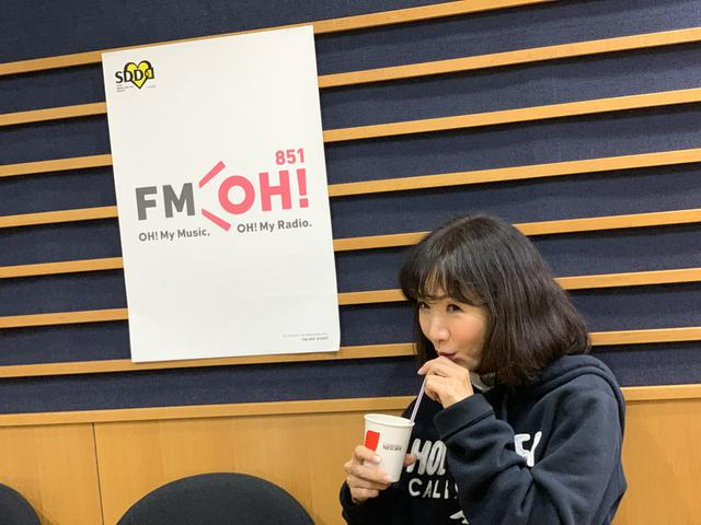 画像: ★この日はネスカフェのアイスコーヒーを飲んでいました。収録終わりにも「もう一杯☕」