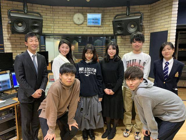 画像: ★スタジオにお越しいただいた、関西大学SDGsのみなさんと記念撮影。