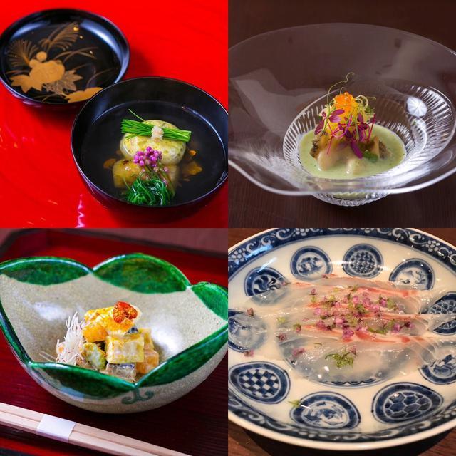 画像: ★弧柳のお料理の一部。