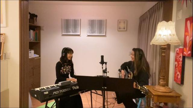 画像: 娘と初コラボ!!@おうち www.youtube.com