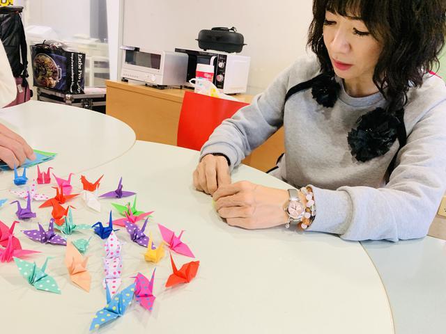 画像: ★岡村孝子さんへの千羽鶴。想い、届きました。