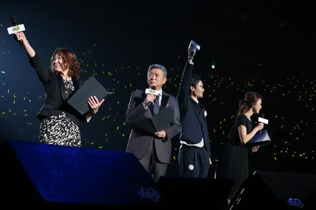 画像: 左から DJ 大塚由美、小倉智昭、DJ 遠藤淳、DJ 赤松悠実