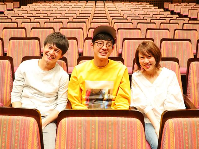 画像: 写真左より 多田智佑・桑原雅人(トット)、みぃ(FM OH! DJ)