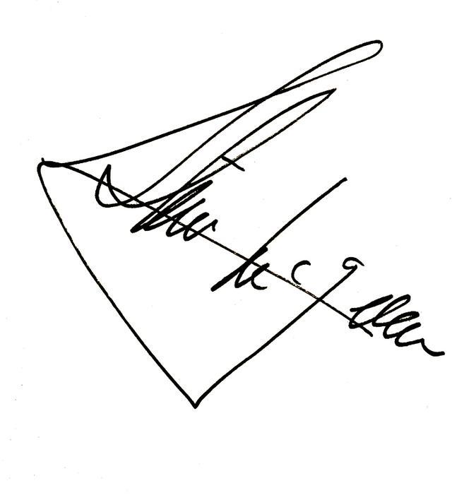画像: これがマックィーンのサイン