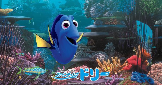 画像: ファインディング・ドリー|映画/ブルーレイ・デジタル配信|ディズニー|Disney.jp |