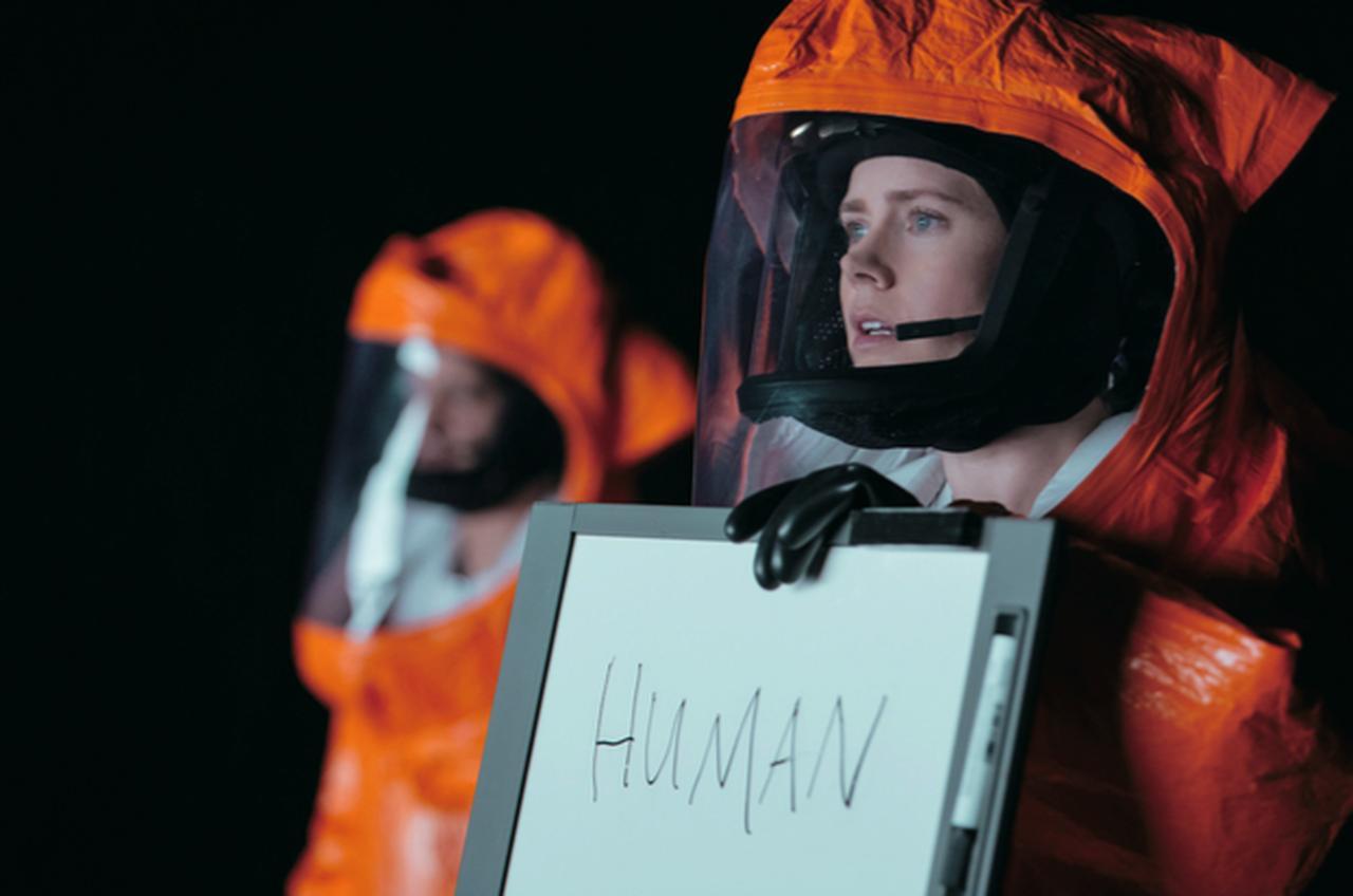 画像: 『メッセージ』 ある日、突然人類の前に降り立った巨大な球体型宇宙船。これを操る知的生命体は果たして人類の敵か友人か。(2017年5月19日公開)