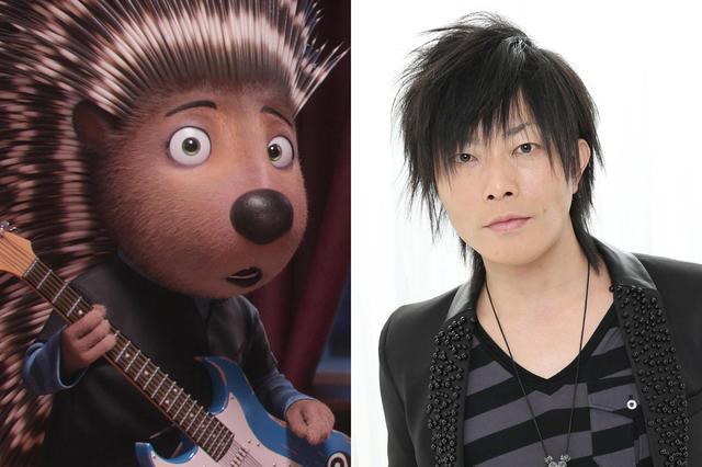 画像: ご存知、歌めっちゃ上手い谷山さんがロック・ハリネズミのランスを演じます