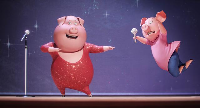 画像: ロジータは歌はうまいけどダンスは苦手。グンターと共に猛特訓するのです