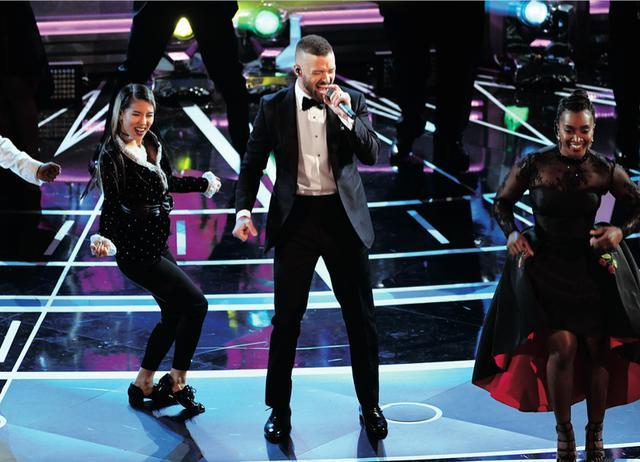 画像: オープニングはジャスティン・ティンバーレークのシング&ダンス