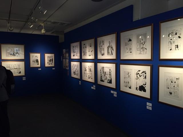 画像: 会場内には200点の原画が展示されている。