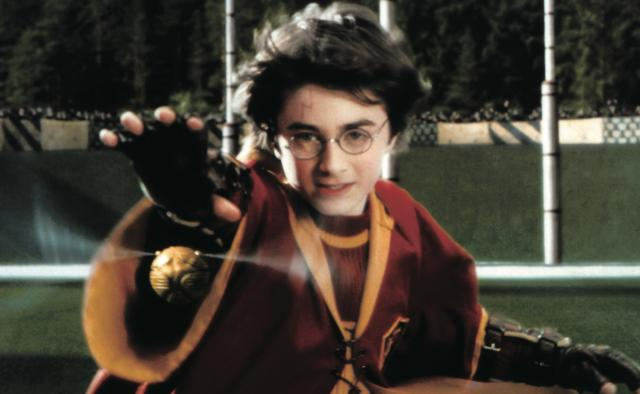 画像: ハリー・ポッターはクィディッチのシーカーだった(「ハリー・ポッターと賢者の石」)