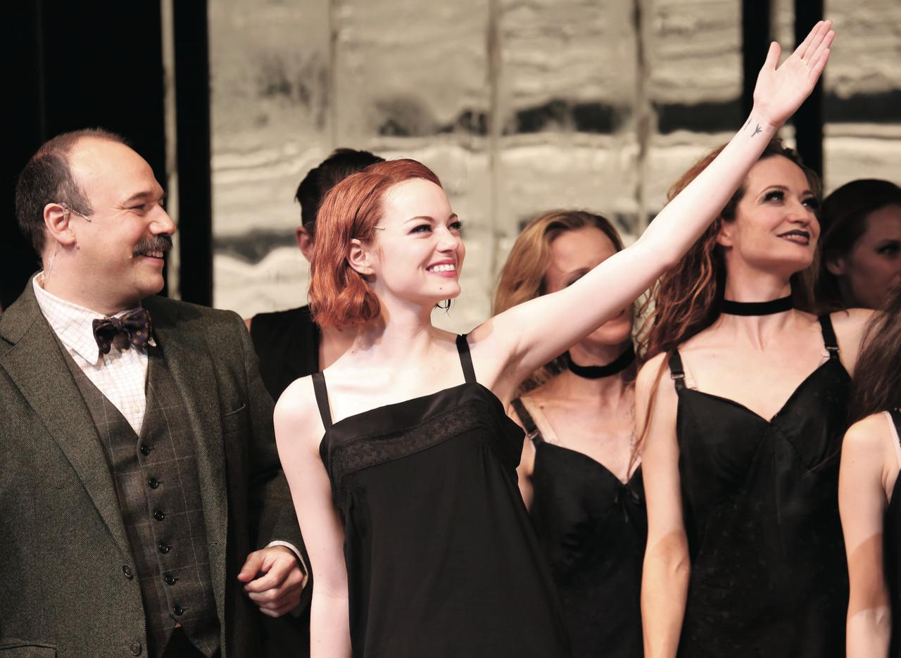 画像: 『キャバレー』でブロードウェイに ブロードウェイで舞台ミュージカル『キャバレー』に主演。ダイナミックな歌とダンスを披露し好評を博した