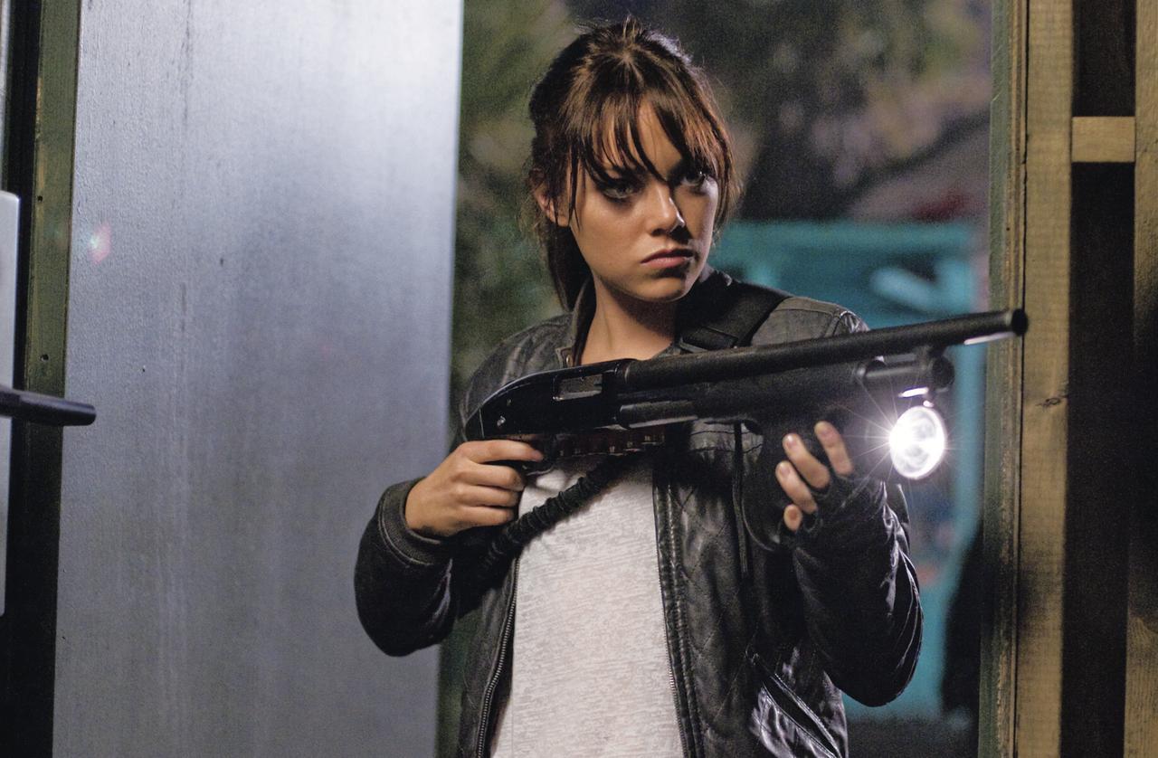 画像: 2009 「ゾンビランド」 全米でスマッシュヒットとなったコメディー・ホラー映画「ゾンビランド」に出演。ゾンビと戦うクールな少女役で評判に