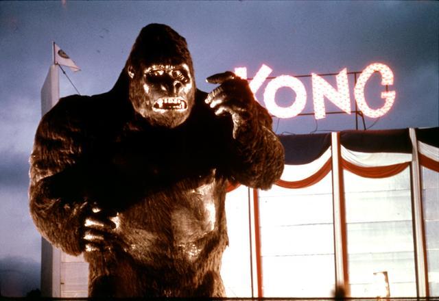 画像: ハリウッド発の本格的怪獣大作だった76年版の「キングコング」