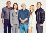 画像: ハリソン・フォード、製作者キャスリーン・ケネディー、ジョージ・ルーカス、ビリー・ロード、マーク・ハミル (c)2017 Lucasfilm Ltd. & TM. All Rights Reserved.