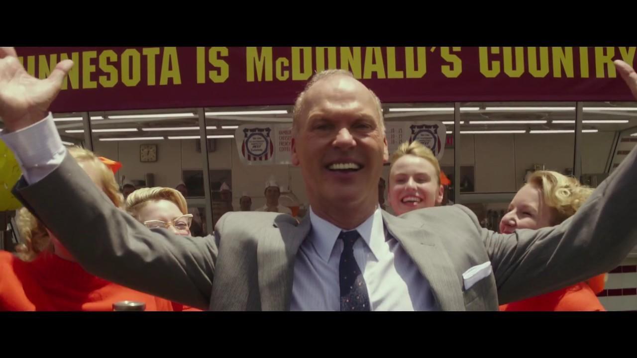 画像: 映画『ファウンダー ハンバーガー帝国のヒミツ』予告 www.youtube.com