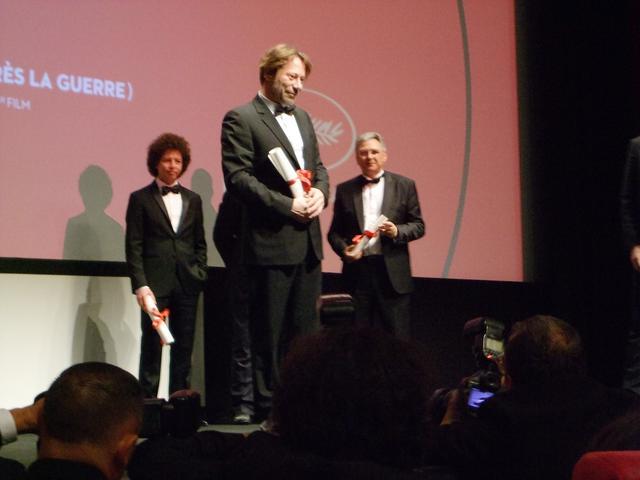 画像: 『ある視点』部門で脚本賞受賞のマチュー・アマルリック