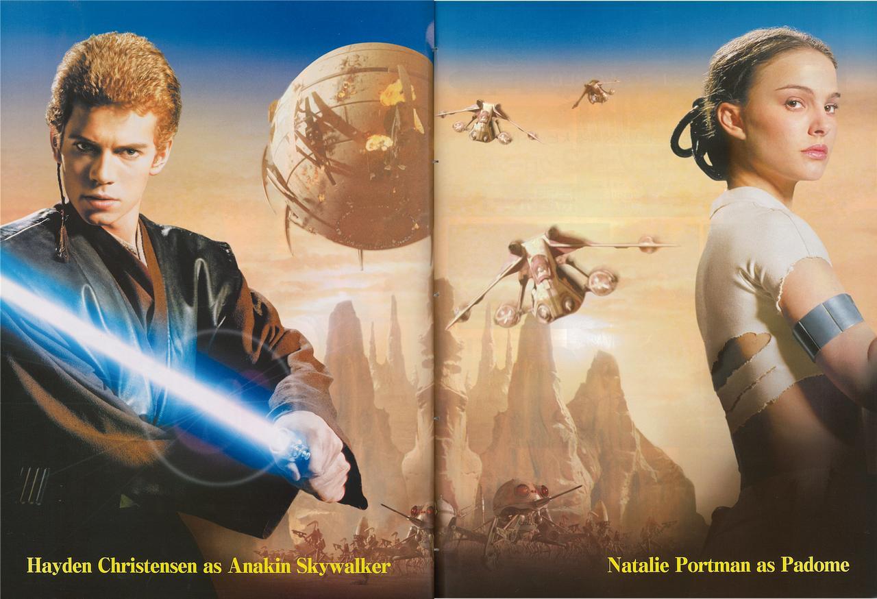 画像: 「スター・ウォーズ エピソード2」のヘーデンとナタリーのスペシャル・ポート