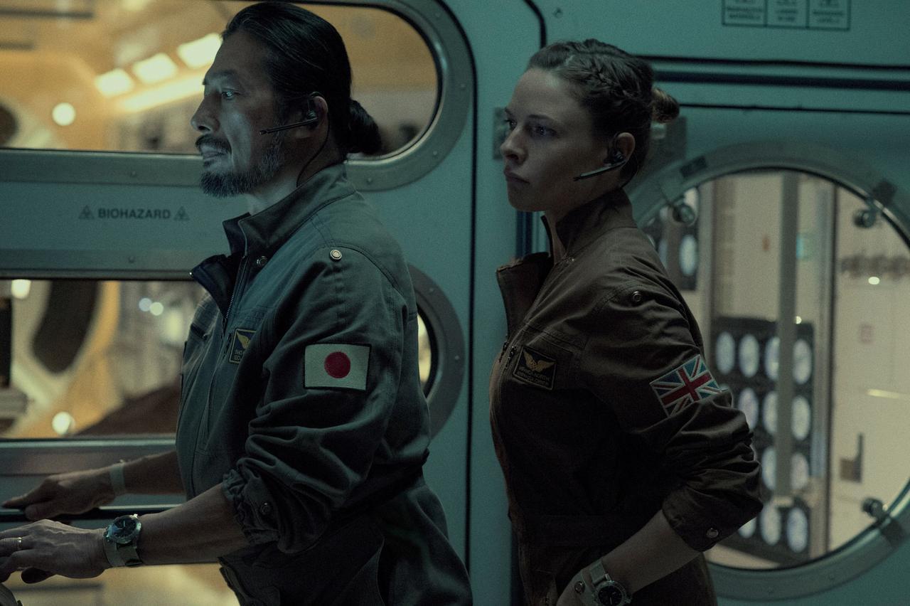 画像: 巨大な密室である宇宙ステーションの中で恐るべき惨劇の幕が開く
