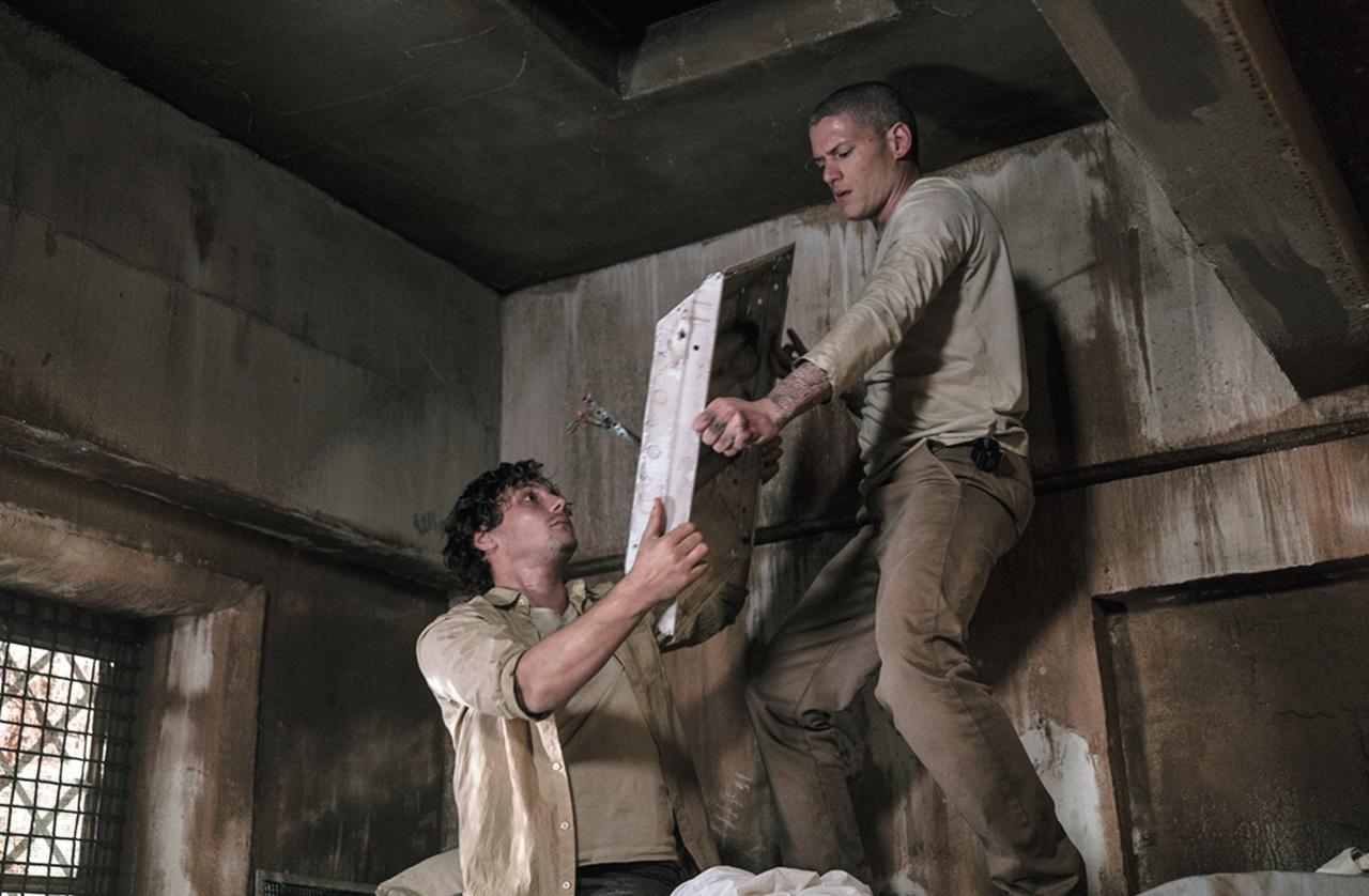 画像: マイケルは囚人仲間と共に脱獄を計画 ©2017 Twentieth Century Fox Film Corporation. All Rights Reserved.