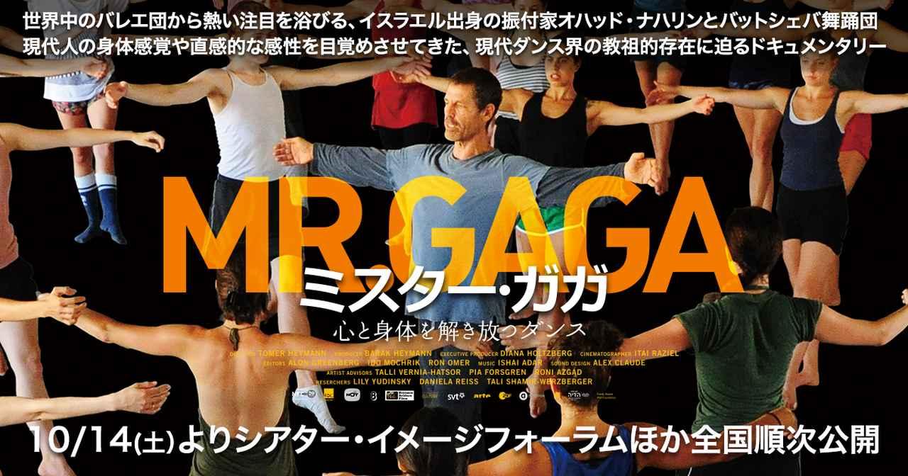 画像: 映画『ミスター・ガガ 心と身体を解き放つダンス』|10/14(土)よりシアター・イメージフォーラムほか全国順次公開!