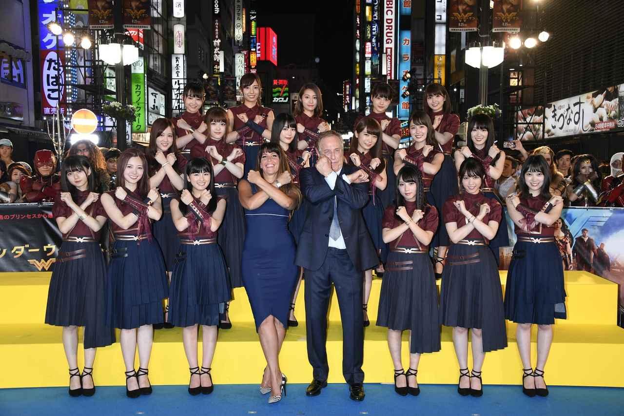 1000人以上のファン大集合!乃木坂46も応援に「ワンダーウーマン」ジャパンプレミア開催