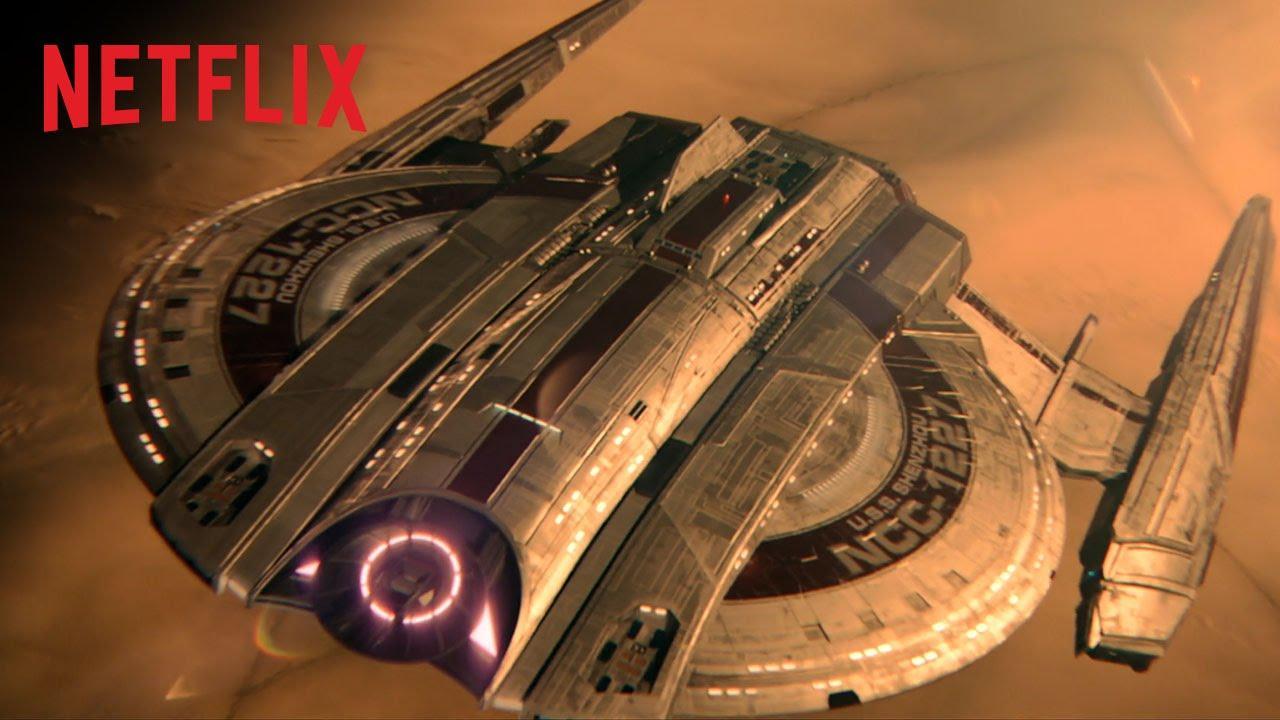 画像: Netflixオリジナルシリーズ『スター・トレック:ディスカバリー』予告編 youtu.be