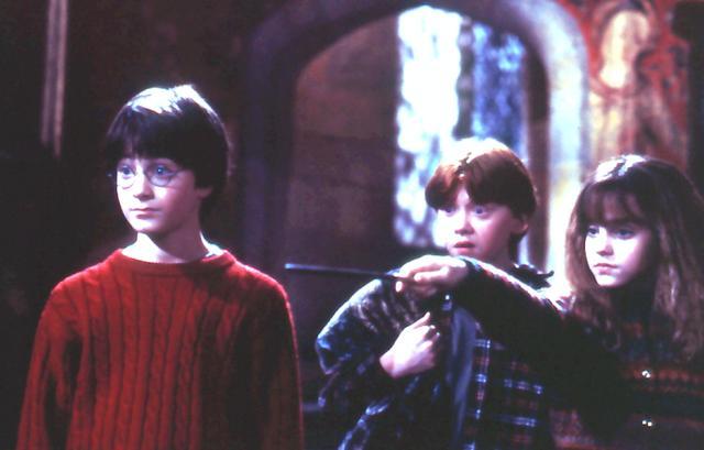 画像: ラドクリフをアイドルにした「ハリー・ポッターと賢者の石」