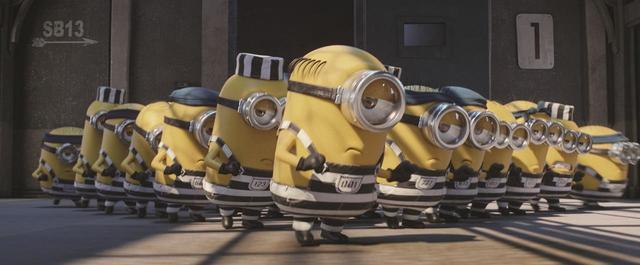 画像: ミニオンたちが囚人服で大暴れ?「怪盗グルーのミニオン大脱走」本予告映像公開! - LAWRENCE - Motorcycle x Cars + α = Your Life.