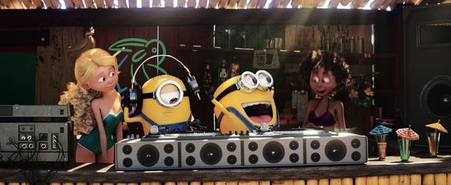 画像: ミニオンたちの歌声が聞けるゾ!