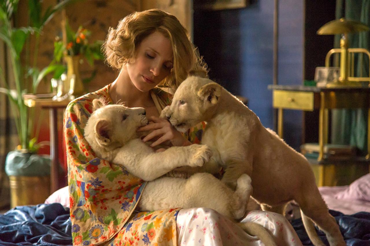 画像: ユダヤ人300人をかくまい命を救った勇気ある女性の感動実話 「ユダヤ人を救った動物園 アントニーナが愛した命」12月15日公開