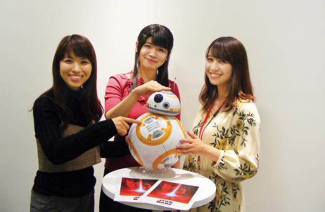 画像: 左:畑中芳子さん 真ん中:中島茉莉花さん 右:髙瀬加奈さん