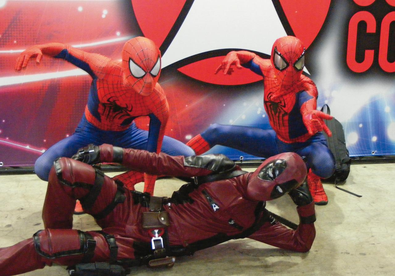 画像2: マーベル、DC、「スター・ウォーズ」まで勢ぞろい!東京コミコン2017大成功!レポート