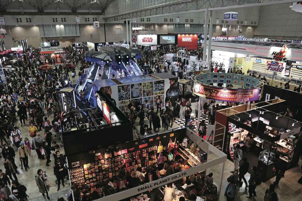 画像3: マーベル、DC、「スター・ウォーズ」まで勢ぞろい!東京コミコン2017大成功!レポート