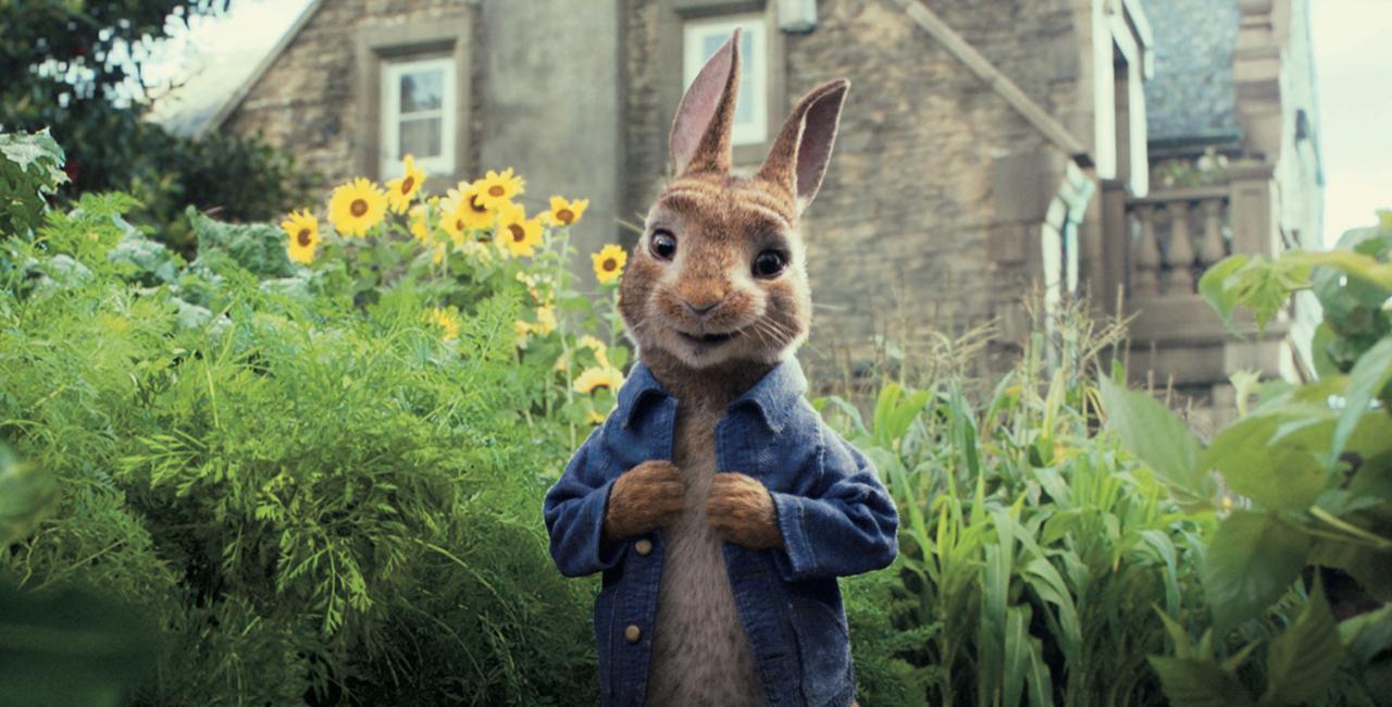 画像: 実写とCGアニメの融合で世界一有名なウサギを映像化!