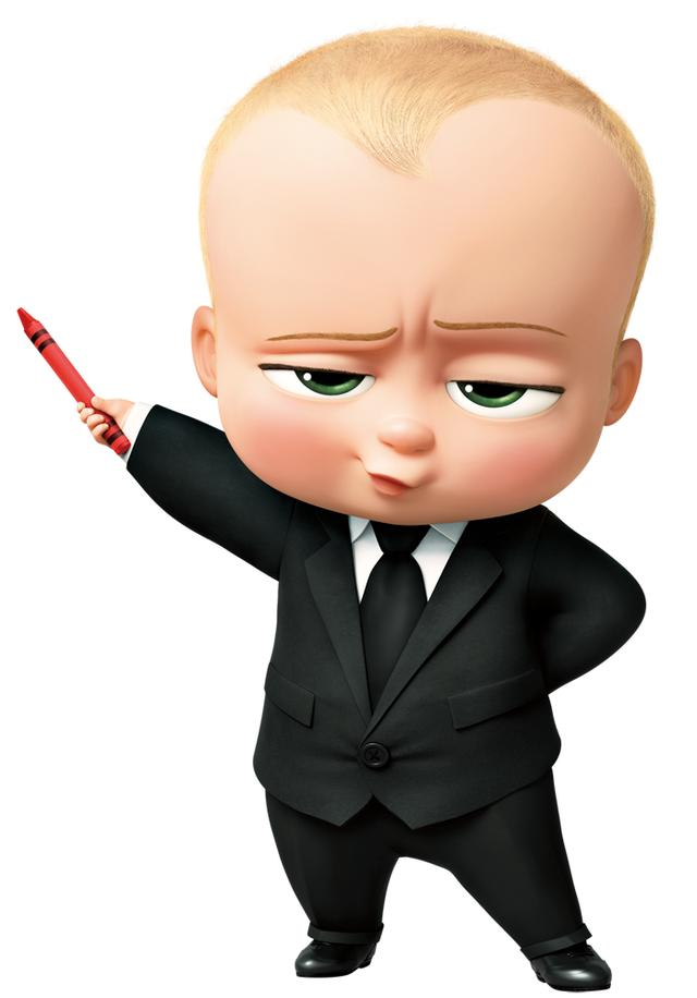 画像: ボス・ベイビー 見た目は頬ずりしたくなるほどかわいい赤ん坊なのに、中身は口が悪く人づかいの荒いおっさん。7歳の少年ティムの弟として突然家にやってきた。ある秘密の任務を抱えている。